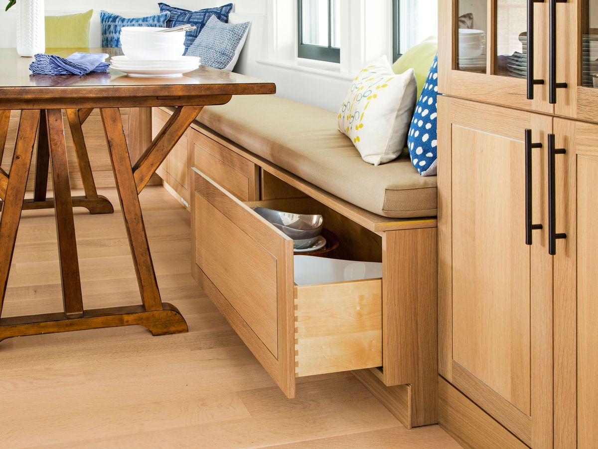 Drawers for cabinet storage