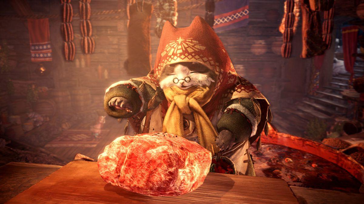 Monster Hunter World Iceborne Grand Meowster Chef