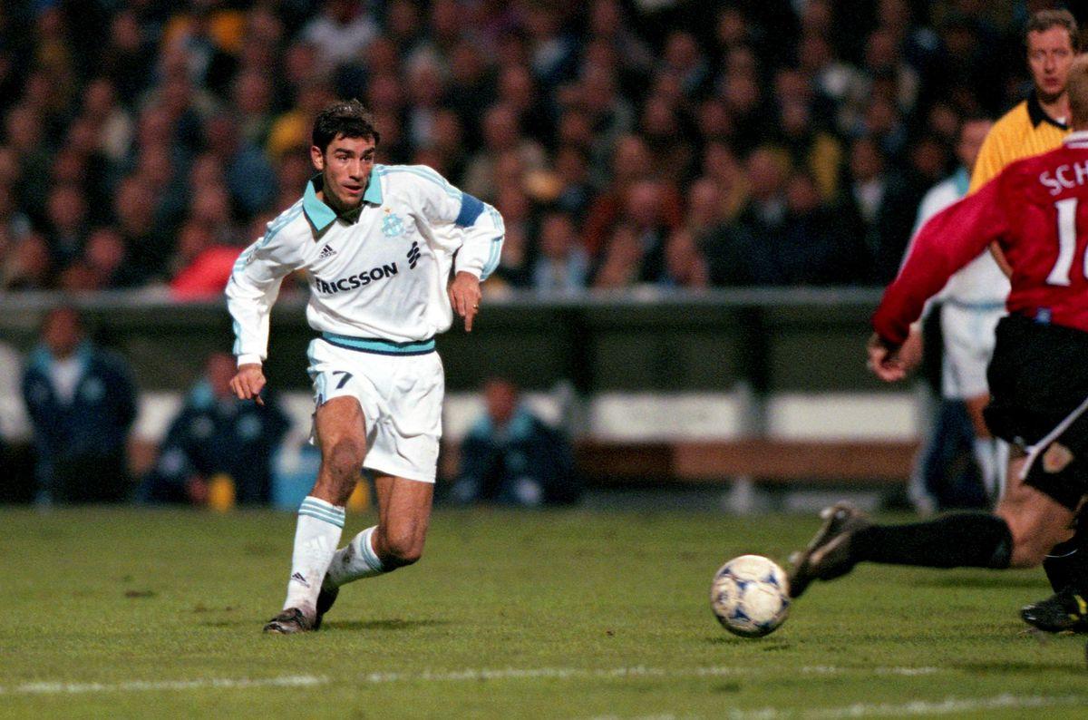 Robert PIRES - 19.10.1999 - Marseille / Manchester United - 1er tour Champions League,