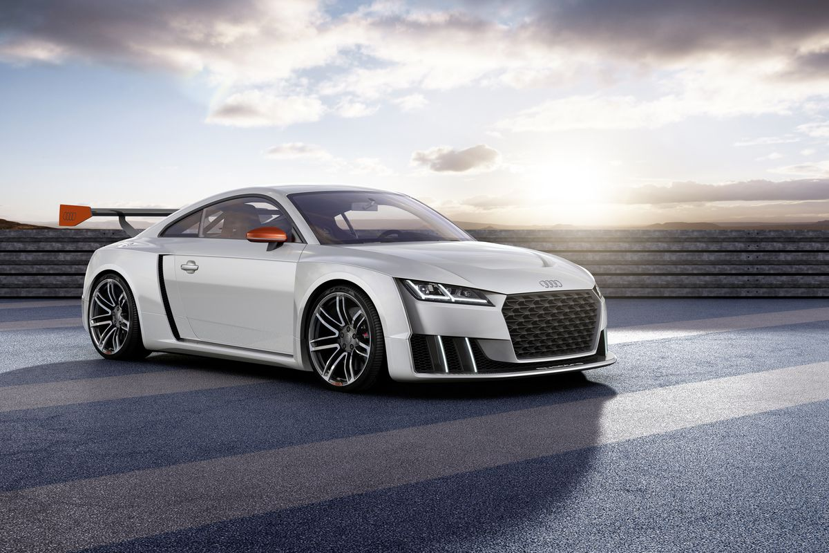 Audi Just Unveiled A 600 Horsepower Tt And It Looks Incredible