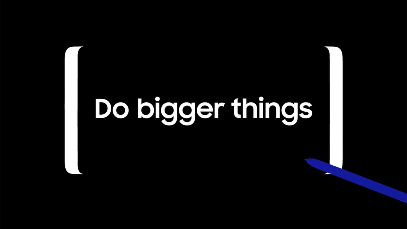 Galaxy Note 8 Teaser Suggests It's Just a Larger S8 with a Stylus