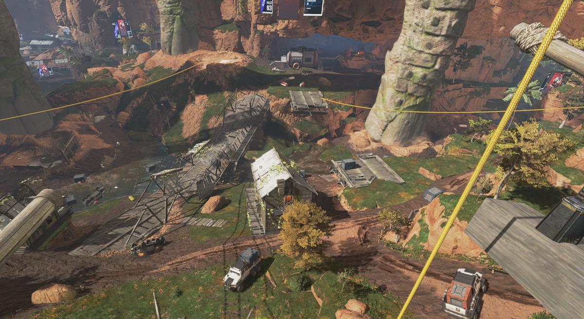 Ruins on Kings Canyon