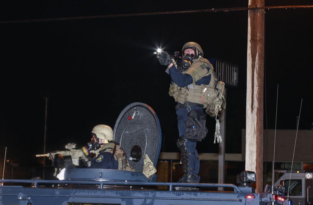 Militarized Police in Ferguson