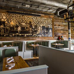 The redesigned interior at The Family Dog.