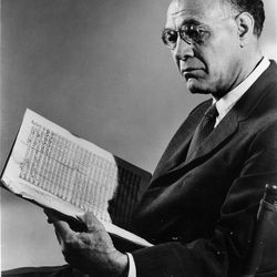 Maurice Abravanel served as music director of the Utah Symphony beginning in 1947.