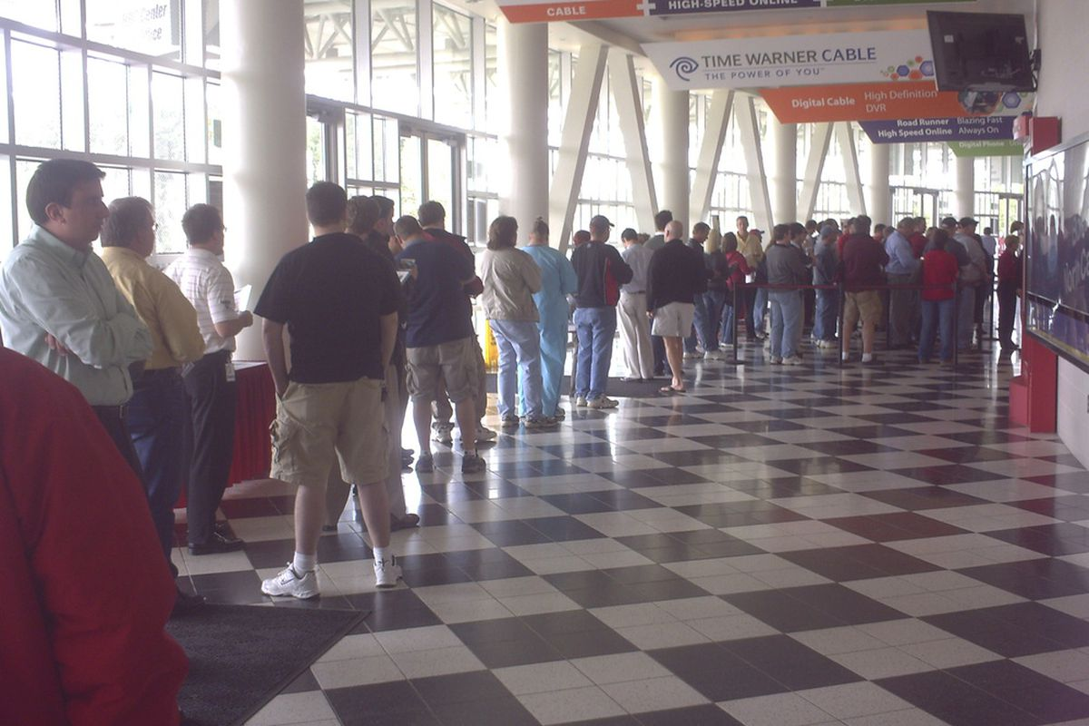 Will long lines return to the PNC?  (file photo)