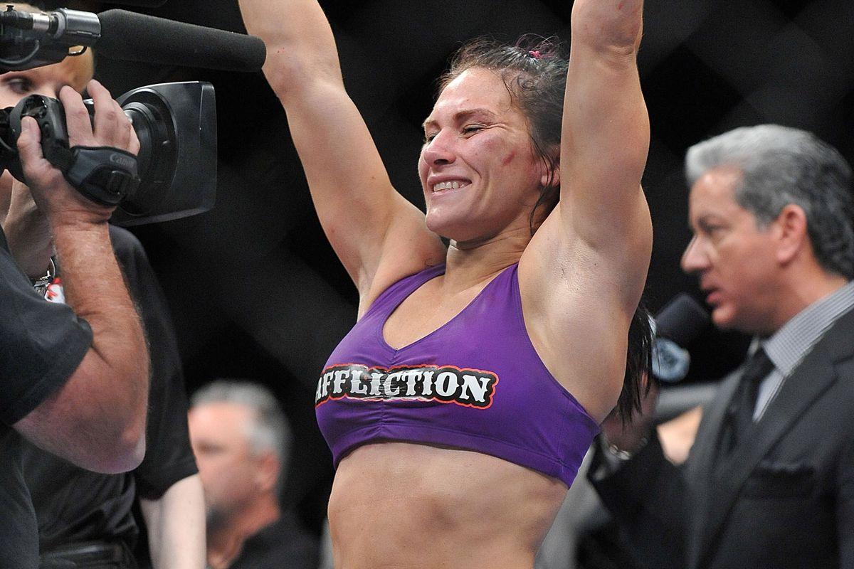 Before She Knocked Out Miesha And Ronda, Amanda Nunes Had