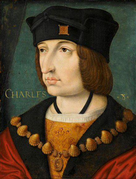 A painting of King Charles VIII