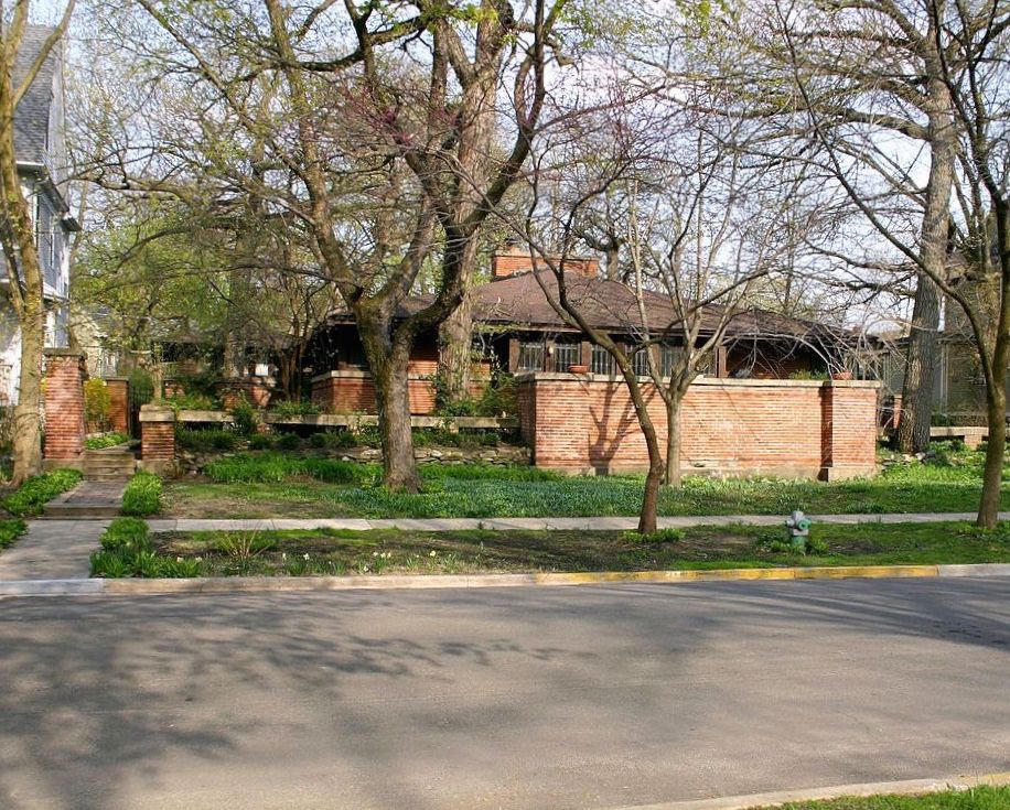 A walking tour of Frank Lloyd Wright's Oak Park - Curbed Chicago