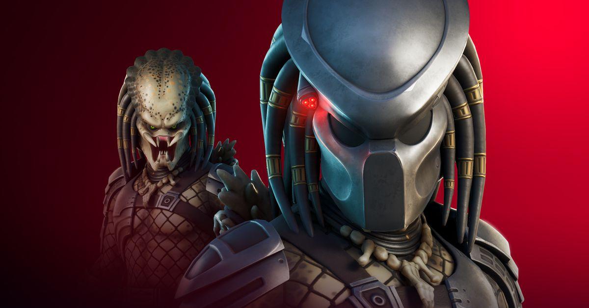 The Predator comes to Fortnite