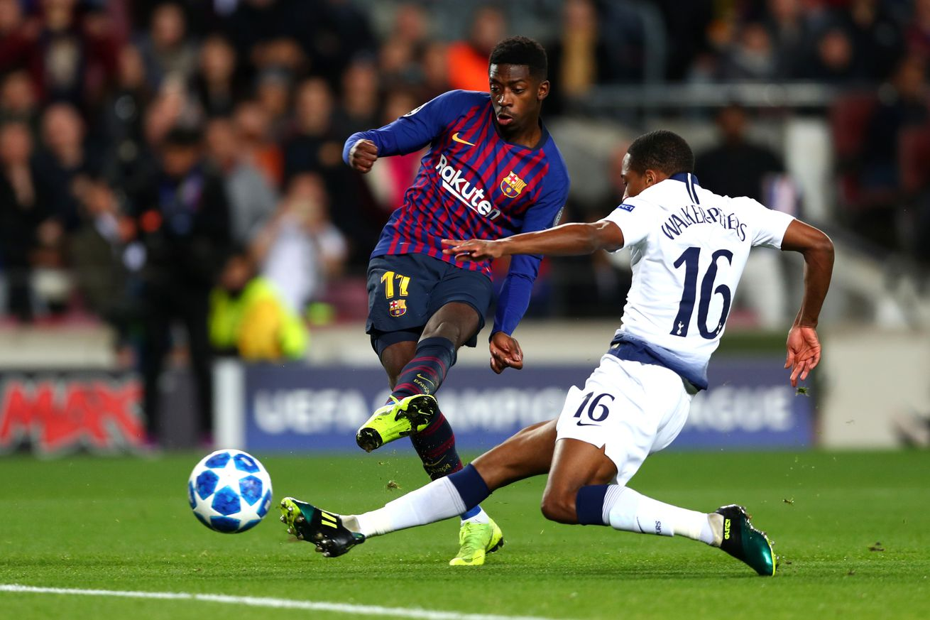 Dembele apologized to the Barcelona dressing room