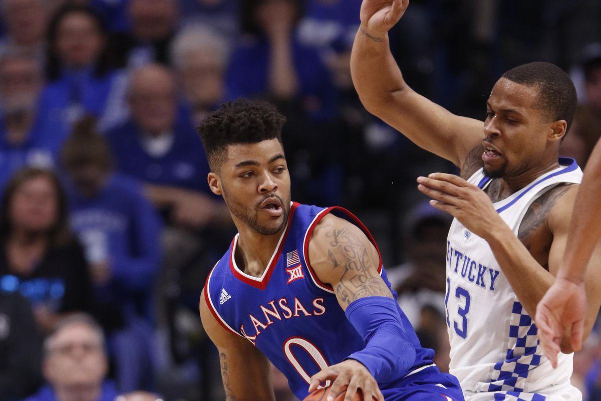 NCAA Basketball: Kansas at Kentucky