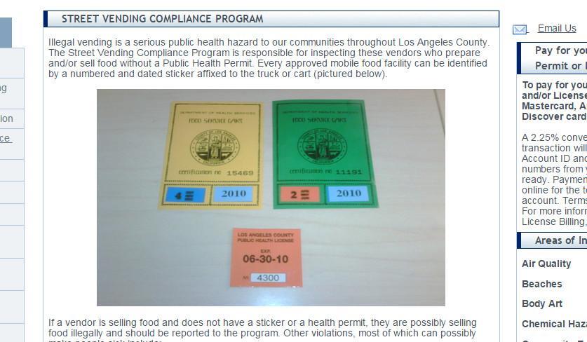 L.A. County Health Department