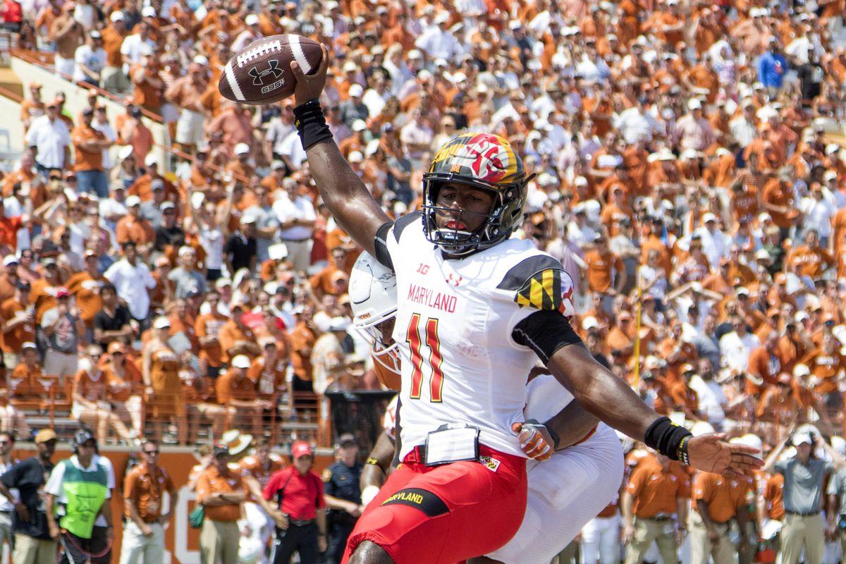 NCAA Football: Maryland at Texas