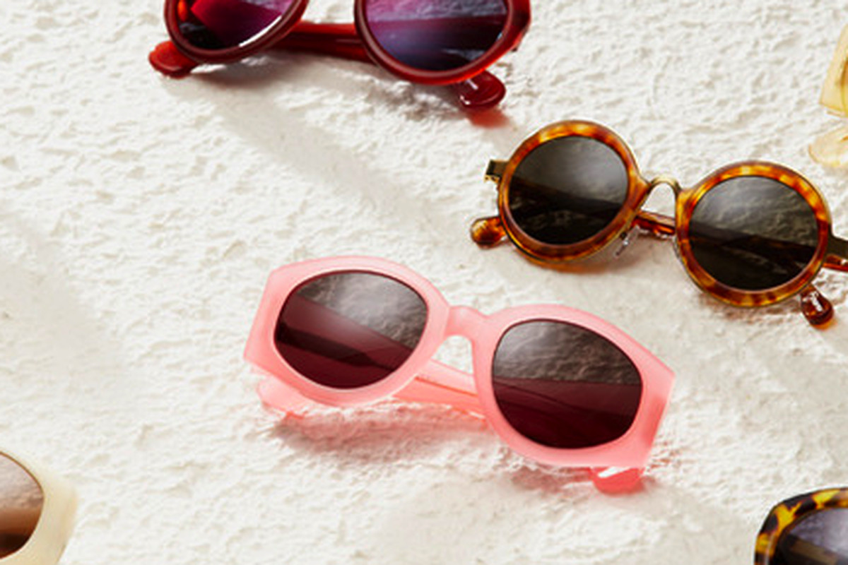 Dries Van Noten sunglasses on Gilt
