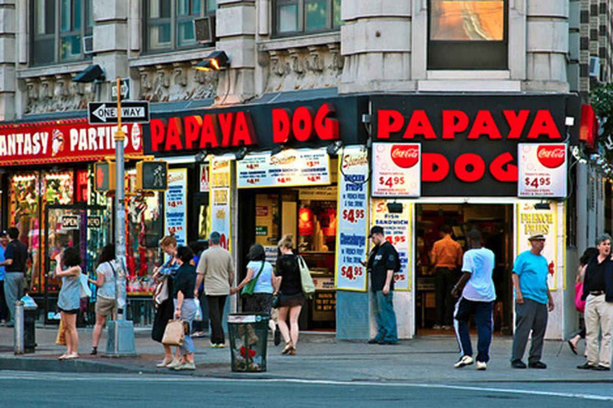 Papaya Dog, NYC
