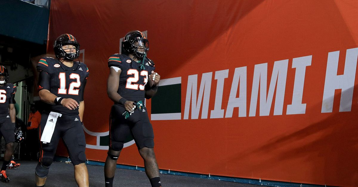 Canes Football Unveil Jersey Combos For 2018 State Of The U