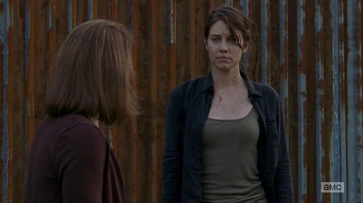 Maggie on The Walking Dead.