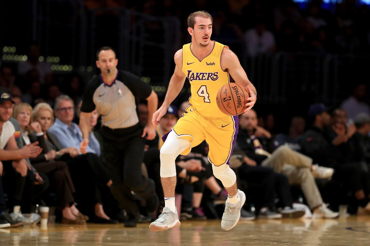 aad843423 Will Alex Caruso Be Victim Of Circumstance On Contending Lakers ...