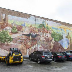 The Lincoln Square Mural, in Lincoln Square. | Tyler LaRiviere/Sun-Times