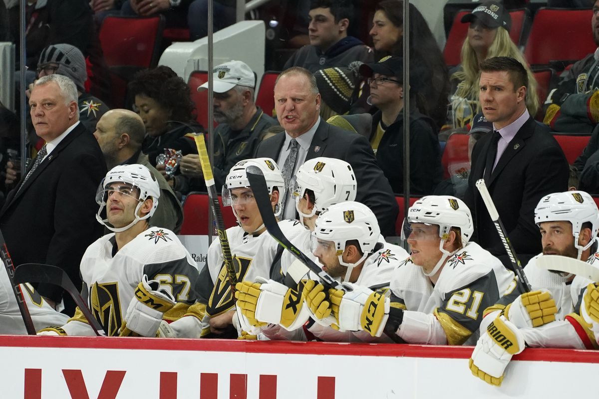 NHL: FEB 01 Golden Knights at Hurricanes