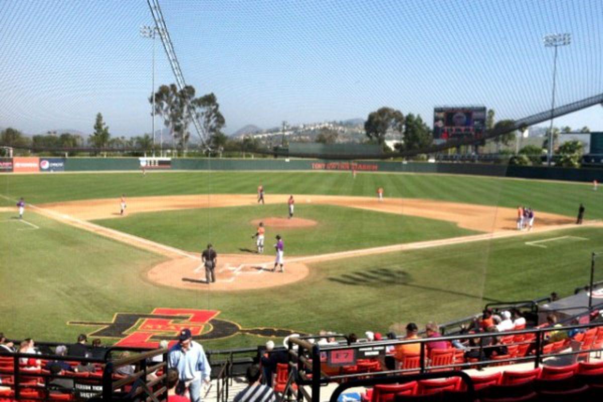 Oregon St. takes on Kansas St in San Diego <em>(Twitpic photo)</em>