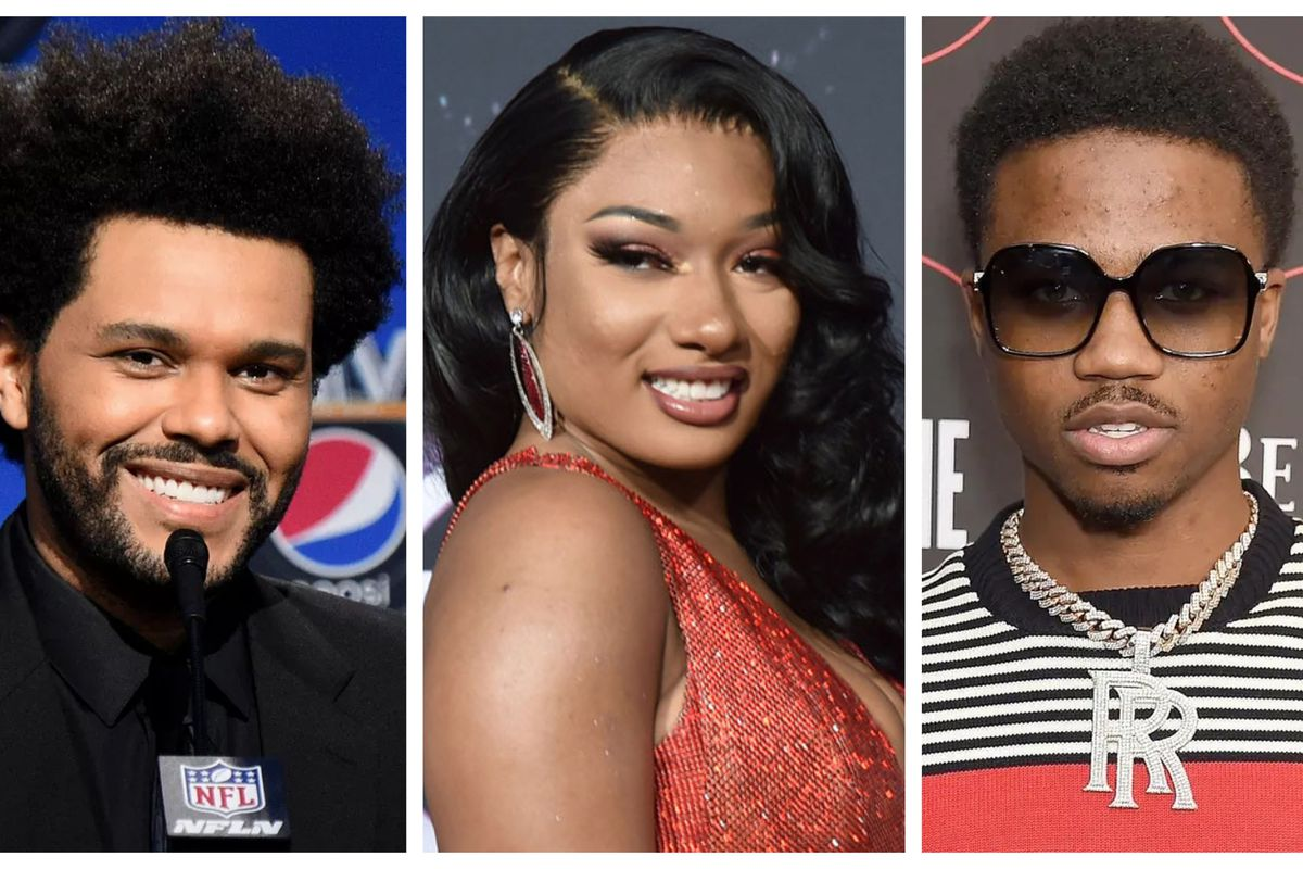 The Weeknd, Megan Thee Stallion and Roddy Ricch