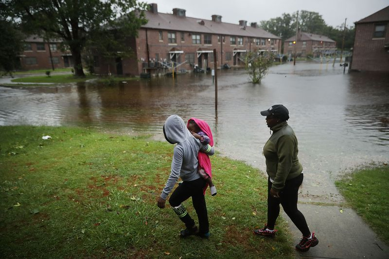 GettyImages_1032890856 Photos: what Hurricane Florence's destruction looks like on the ground