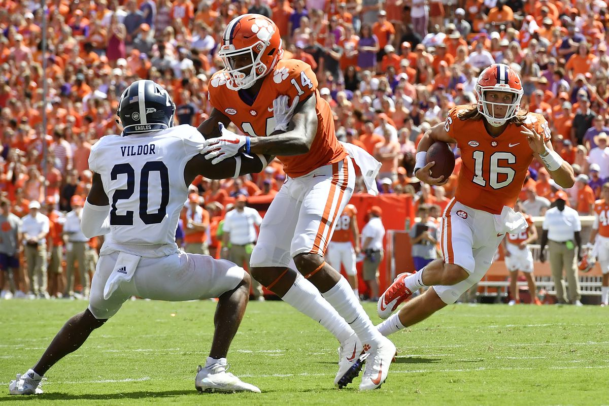 Georgia Southern cornerback Kindle Vildor's performance against Clemson in 2018 put him on the map.