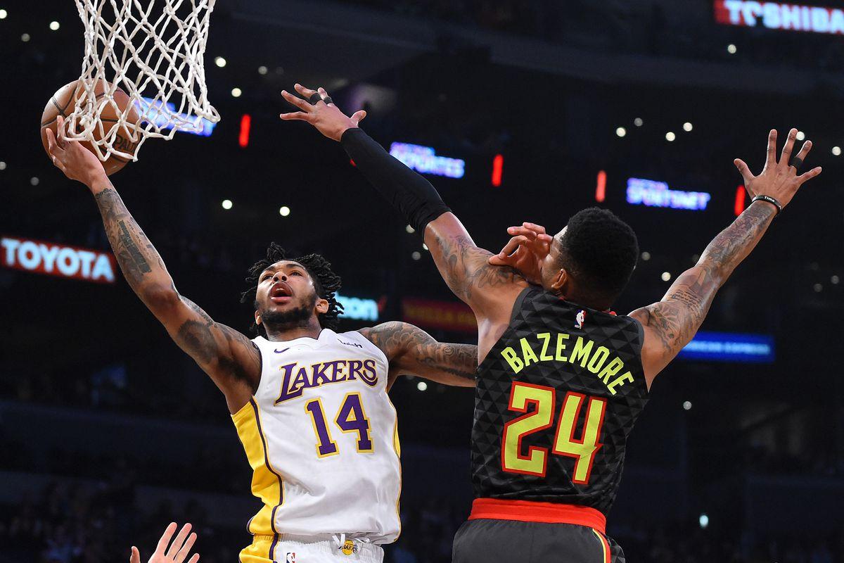 Lakers Vs Hawks Final Score Lakers Snap Losing Streak In