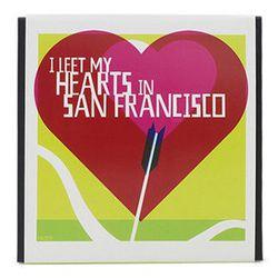 "<strong>Tcho</strong> Kisman ""Heart"" SF Souvenir Gift Box, <a href=""http://www.tcho.com/shop/gifts/san-francisco/kis-heart"">$44.95</a>"