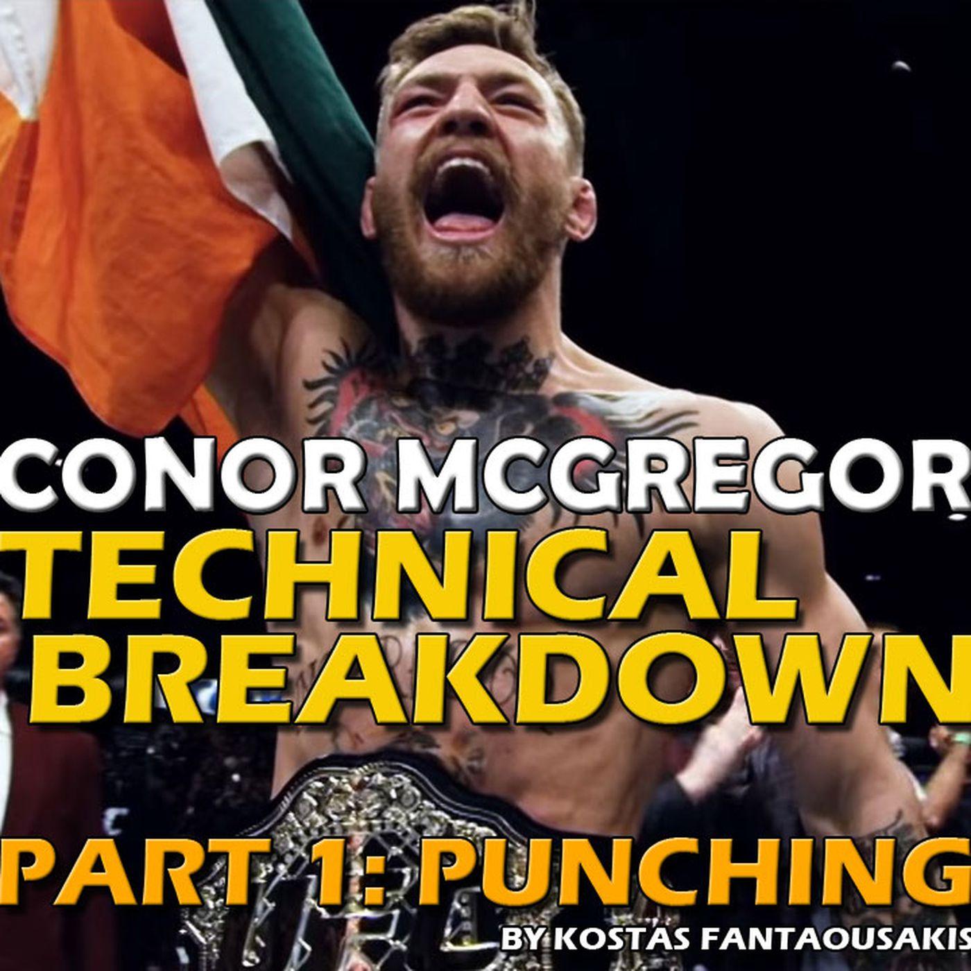 Ufc 246 Conor Mcgregor Technical Breakdown Part 1