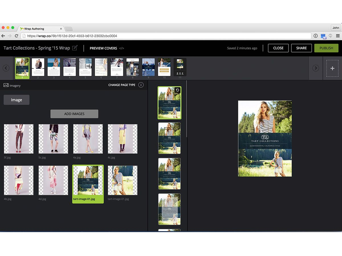 Wrap's authoring tool aims to make mobile storytelling as easy as making a PowerPoint.