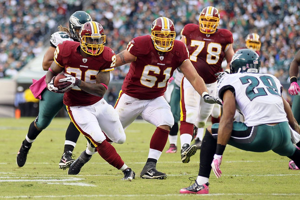 Clinton Portis re-injured his groin and the Washington Redskins placed him on injured reserve on Wednesday. (Photo by Jim McIsaac/Getty Images)