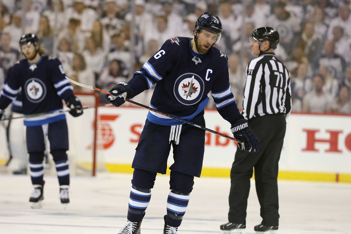 Blake Wheeler Dustin Byfuglien And Problem Contracts Arctic Ice Hockey