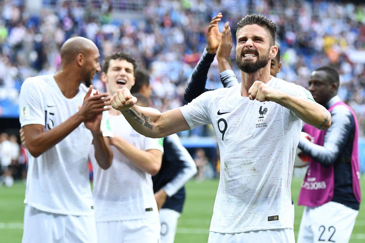 Soccer: World Cup-Uruguay vs France