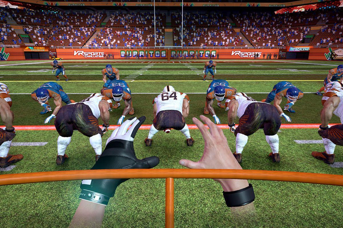 VR Sports Challenge Football