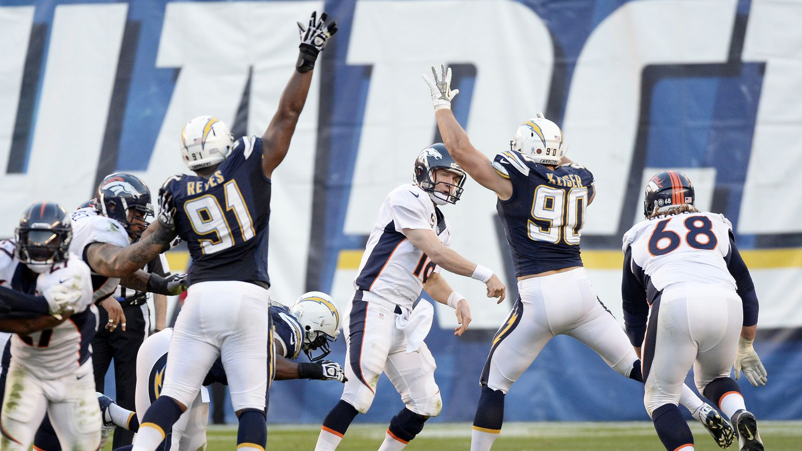 Give Us Your Prediction For Chargers Broncos Bolts From