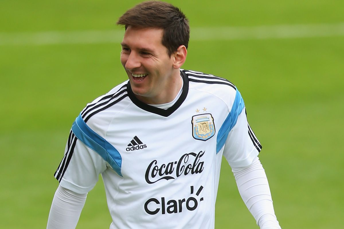 Lionel Messi may be the best player in the world.  His Argentine national team is trying to prove they are the best in the world, too.