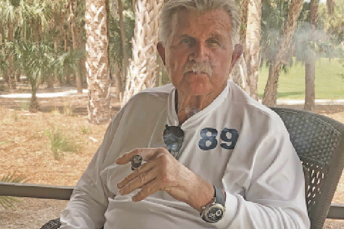 4f5ed859ca4 As Bears legend Mike Ditka nears 80, he is shaken, not deterred ...