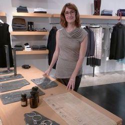 Jewelry designer Isabel Borland at Relish