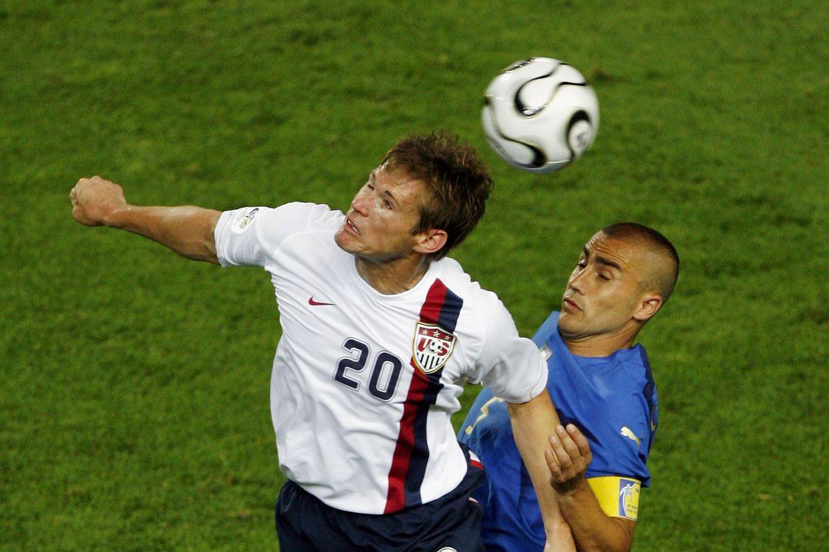 Group E Italy v USA - World Cup 2006