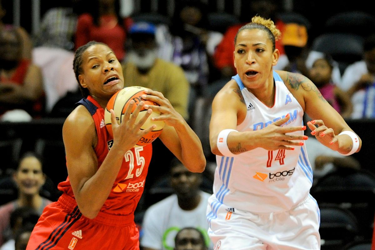 Monique Currie led DC in scoring for Game 3, but it wasn't enough to beat ATL