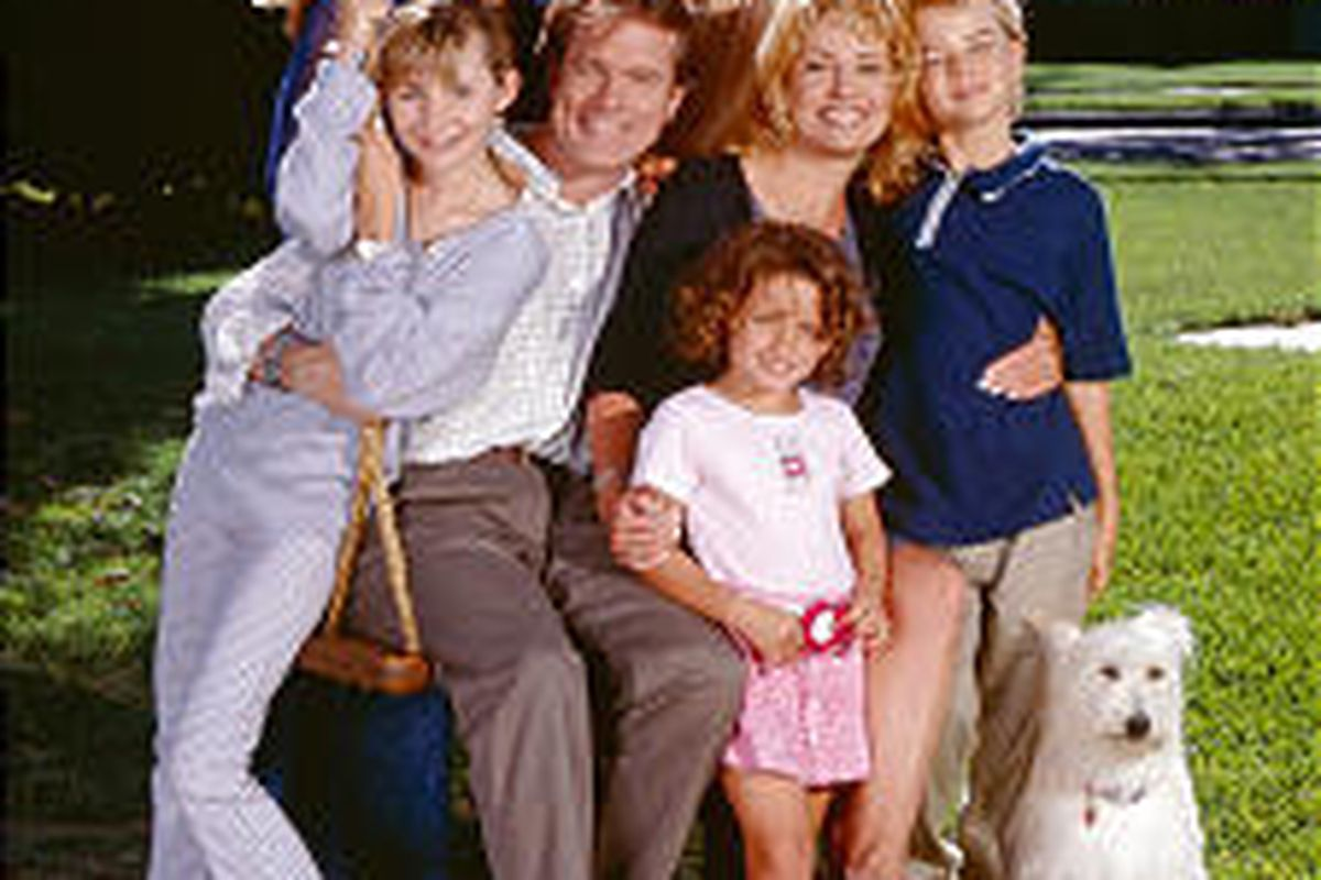 """The cast of """"7th Heaven"""" way back in 1997."""