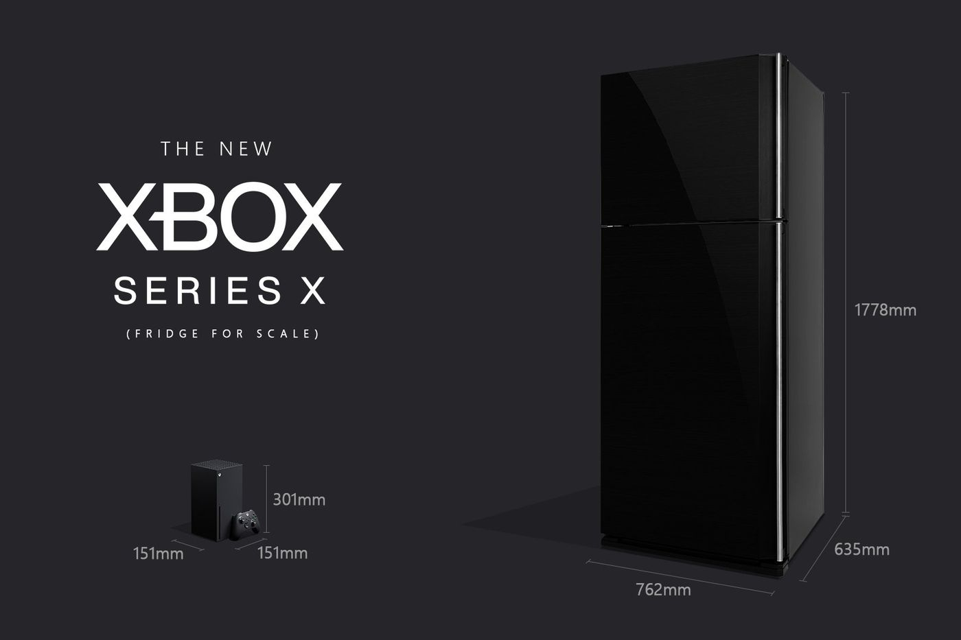 Microsoft Assures Xbox Fans That The Series X Is In Fact Smaller Than A Fridge The Verge