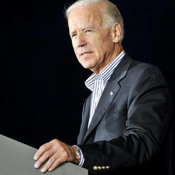Vice President Joe Biden speaks during a campaign stop at the United Auto Workers Local 1714 Union Hall, Friday, Aug. 31, 2012, in Lordstown, Ohio.