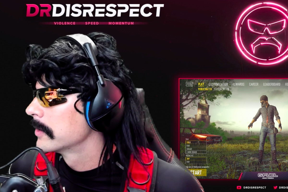 3941ecb3d11 Dr. DisRespect sets huge new Twitch streaming record, beating Tyler1 ...