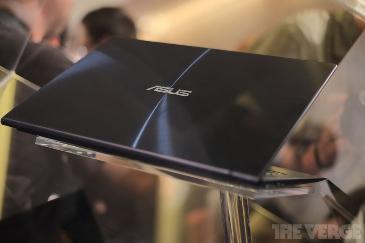 asus unveils 13.3-inch zenbook infinity with gorilla glass lid - the