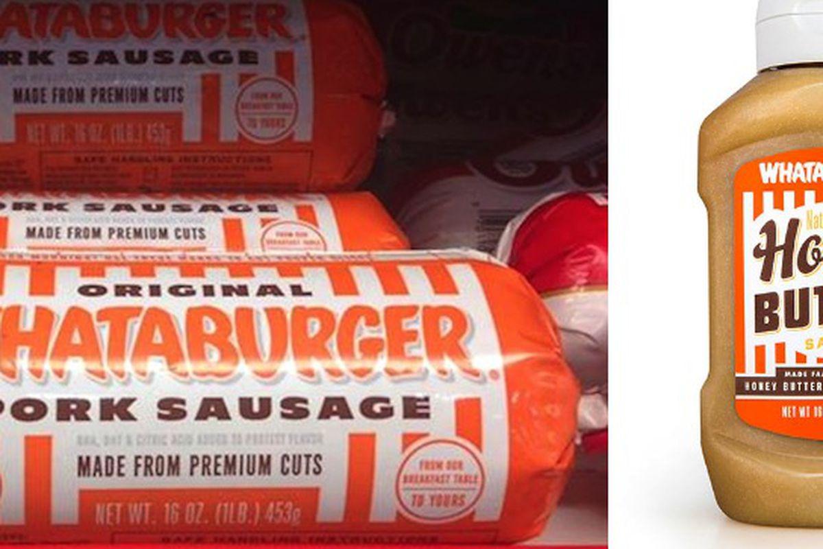Whataburger's sausage on shelves, Honey Butter