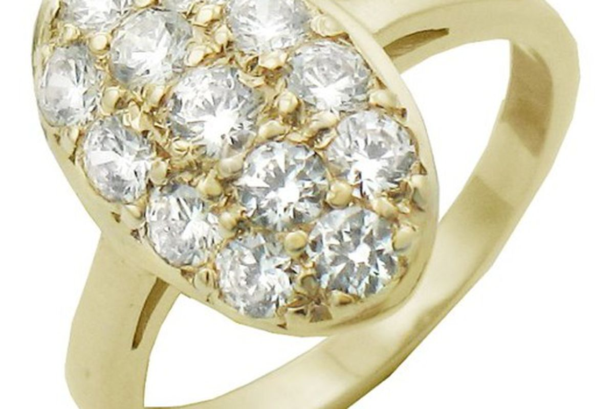 """Twilight's Bella Swan's engagement ring, $35 at <a href=""""http://www.infinitejewelryco.com/store/1844860/product/bella-ring"""">Infinite Jewelry</a>"""